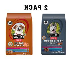 100 Lb Ol' Roy T-Bone Chicken Flavor Dry Dog Food, BACON fla