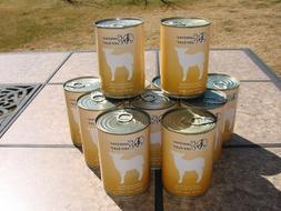 11 13 oz Cans Canine Caviar Lamb Grain Free Gourmet Dog Food