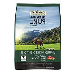 12-Pound, Fresh Bison Dry Dog Food