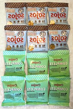 12 NEW pouch bags Sojos Freeze Dried Puppy and Chicken COMPL
