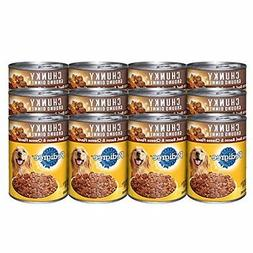 12 Pk 22 Oz Pedigree Canned Balanced Ground Wet Pet Dog Food