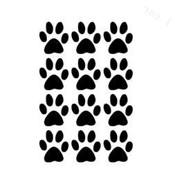 12 small <font><b>Dog</b></font> Cat Walking <font><b>Paw</b