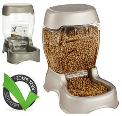 Petmate 12lb. Pet Feeder Automatic Refills Spill-Free Cat an