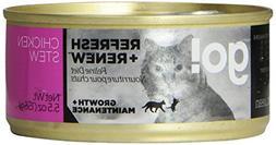Petcurean 152038 Go! Refresh + Renew Chicken Stew for Cat, 5