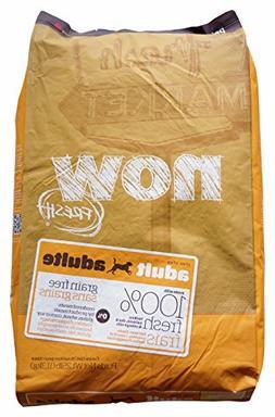 NOW! 152344 Fresh Grain Free Adult Dog Food, 25-Pound Bag