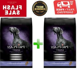 2 bags x Purina Pro Plan Sport All Life Stages Performance 3