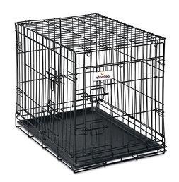 Petmate 24-Inch 2-Door Training Retreats Wire Kennel for Dog