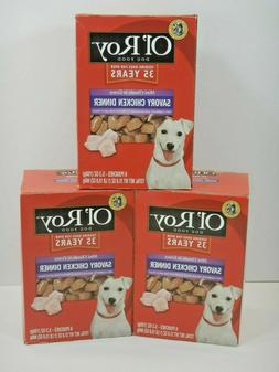 2-PACK Ol' Roy Mini Chunks in Gravy Dog Food 6 Pouches per b