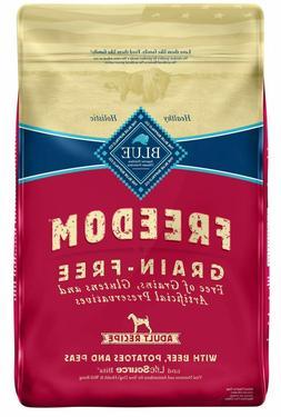 24-lb Blue Buffalo Freedom Natural Adult Beef Recipe Grain-F
