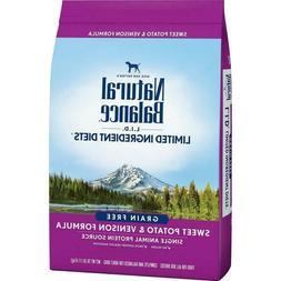 Natural Balance 26 lb Dog Food - SWEET POTATO & VENISON FORM