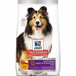 30 lbs Pounds - Hill's Science Diet Dry Dog Food Adult Sensi