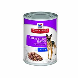 Hill'S Science Diet Senior Wet Dog Food, Adult 7+ Beef & Bar