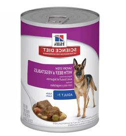 Hill'S Science Diet Senior Wet Dog Food, Adult 7+ Savory Ste