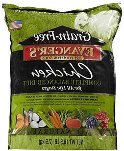 EVANGER'S 776009 Grain Free Chicken, Sweet Pot, Pumpkin Dry