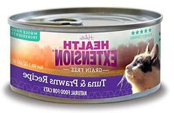 Health Extension 784672107976 2.8 oz Grain Free Tuna and Pra