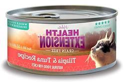 health extension 784672107983 2.8 oz Grain Free Tuna and Til
