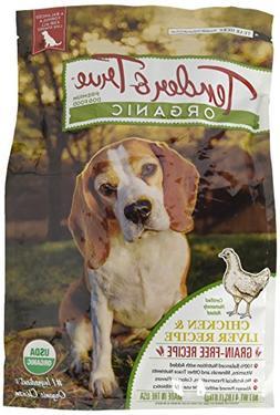 Tender & True 854003 Organic Chicken & Liver Recipe 4 lb dry
