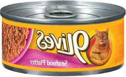 9 Lives 7910000402 Seafood Platter Canned Cat Food, 5.5