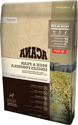 Acana Singles Duck And Pear Dog Food, 4.5 Pounds
