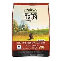 CANIDAE Grain Free PURE Fields Small Breed Dog Formula Food