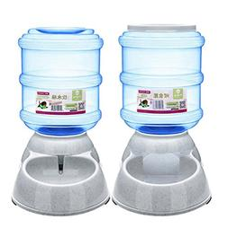 Cydnlive Pet Waterer Feeder,Pet Automatic Waterer,Pet Food F