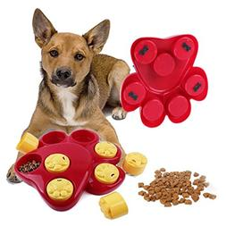 Dog Food Treat Dispensing Boredom Interactive Game Puzzle Tr