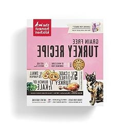 Honest Kitchen Grain Free Turkey Dehydrated Cat Food, 2 lb b