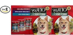 Ol' Roy Cuts in Gravy Variety Pack Wet Dog Food, 13.2 Oz, 24