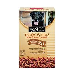Ol' Roy Soft & Moist Beef & Cheese Flavor Dog Food 72 oz. Bo