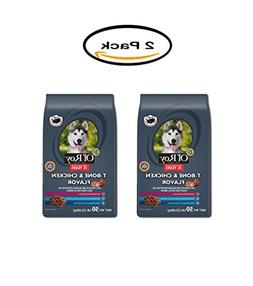 PACK OF 2 - Ol' Roy T-Bone & Chicken Flavor Dry Dog Food, 50