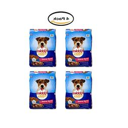 PACK OF 4 - Kibbles 'n Bits Dog Food Small Breed Savory Beef
