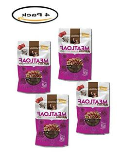 PACK OF 4 - Rachael Ray Nutrish Meatloaf Morsels Dog Treats,