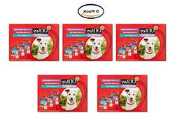 PACK OF 7 - Ol' Roy Variety Pack Mini Chunks in Gravy Wet Do