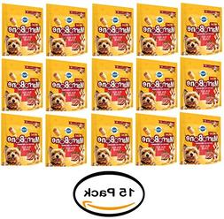 Pack of 15- PEDIGREE MARROBONE Real Beef Flavor Mini Snacks