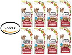 Pack of 8 - Purina Beneful Originals With Real Beef Dry Dog