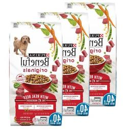 Purina Beneful 40 lb. Bag Originals With Real Beef Dog Food,