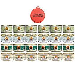 Weruva Chicken 3oz Variety Pack  with Bonus Can Topper