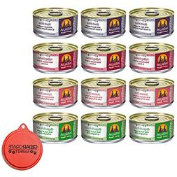 Weruva Grain Free Canned Dog Food Variety Pack, 5.5 oz Each,