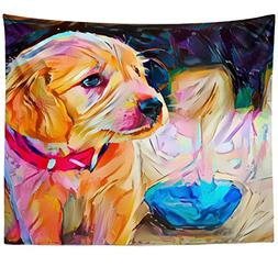 Westlake Art - Dog Art - Wall Hanging Tapestry - Abstract Ar