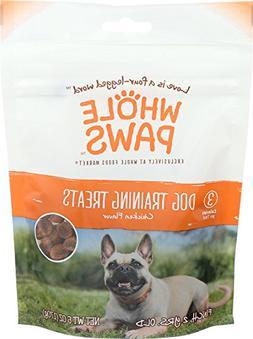 Whole Paws, Dog Training Treats, Chicken Flavor, 6 oz