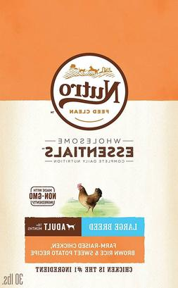 Nutro Adult Large Breed, Farm-Raised Chicken, Brown Rice & S
