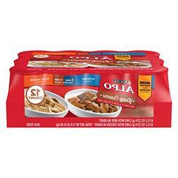 Purina ALPO Gravy Cravers Variety Pack Dog Food 12-13.2 oz.