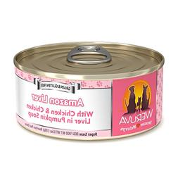 Weruva Amazon Liver Canned Dog Food Case 5.5oz