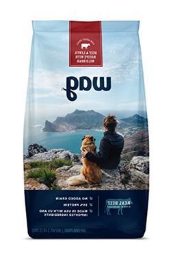 Amazon Brand - Wag Dry Dog Food Trial-Size Bag, No Added Gra