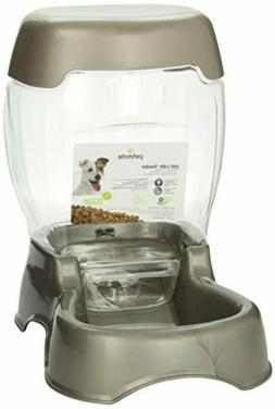 Automatic Pet Feeder Dogs Cats Food Dispenser Self Station D