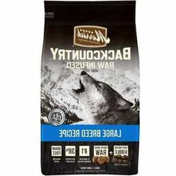 Merrick Backcountry Large Breed Recipe Dry Dog Food, 12 LB