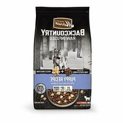 Merrick Backcountry Raw Infused Grain Free Dry Dog Food Pupp