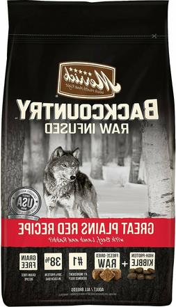 Merrick Backcountry Raw Infused Great Plains Red Recipe with