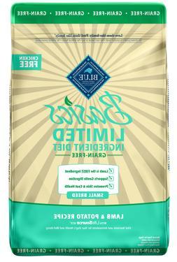 Blue Buffalo Basics Grain Free Small Breed Adult Lamb & Pota