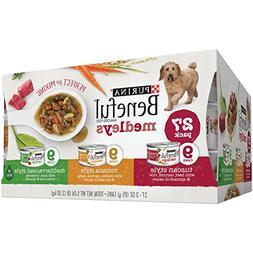 Purina Beneful Medleys Variety Pack Dog Food 27-3 oz. Cans